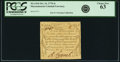 Colonial Notes:Massachusetts, Massachusetts October 16, 1778 4 Shillings Fr. MA-264. PCGS ChoiceNew 63.. ...