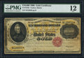 Large Size:Gold Certificates, Fr. 1225h $10,000 1900 Gold Certificate PMG Fine 12.. ...