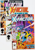 Modern Age (1980-Present):Superhero, X-Factor Group of 17 (Marvel, 1986-87) Condition: Average NM-....(Total: 17 Comic Books)