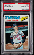 Baseball Cards:Singles (1970-Now), 1977 Topps Dave Goltz #321 PSA Gem Mint 10 - Pop Four....
