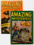 Golden Age (1938-1955):Horror, Amazing Mysteries #33 and 35 Group (Marvel, 1949-50) Condition:Average GD+.... (Total: 2 Comic Books)