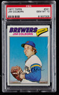 Baseball Cards:Singles (1970-Now), 1977 Topps Jim Colborn #331 PSA Gem Mint 10....