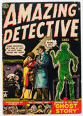 Golden Age (1938-1955):Horror, Amazing Detective Cases #13 (Atlas, 1952) Condition: VG/FN....