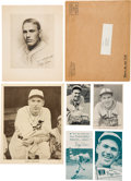 Baseball Collectibles:Others, 1930's Dizzy Dean Premium, Supplements & Advertising (6 Items)....