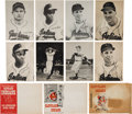 Baseball Cards:Sets, 1948 & 1949 W712 Cleveland Indians Picture Pack Sets (3). ...
