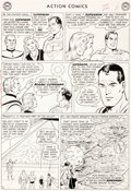 """Original Comic Art:Panel Pages, Curt Swan and George Klein Action Comics #304 """"TheInterplanetary Olympics"""" Page 6 Original Art (DC, 1963)...."""