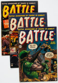 Golden Age (1938-1955):War, Battle Group of 6 (Marvel, 1952-54) Condition: Average VG+.... (Total: 6 Comic Books)