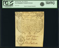 Colonial Notes:New Hampshire, Province of New Hampshire December 25, 1734 Portsmouth Merchants's Note 2 Shillings Fr. NH-38.2. PCGS Choice About New 58PPQ....