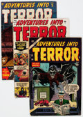 Golden Age (1938-1955):Horror, Adventures Into Terror Group of 6 (Atlas, 0) Condition: AverageGD+.... (Total: 6 Comic Books)