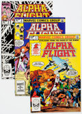 Modern Age (1980-Present):Superhero, Alpha Flight Box Lot (Marvel, 1983-90) Condition: Average NM-....