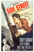 "Movie Posters:Film Noir, Side Street (MGM, 1950). One Sheet (27"" X 41"").. ..."