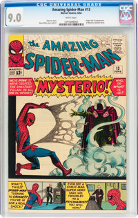 The Amazing Spider-Man #13 (Marvel, 1964) CGC VF/NM 9.0 White pages
