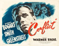 "Movie Posters:Film Noir, Conflict (Warner Brothers, 1945). Half Sheets (2) (22"" X 28"")Styles A and B.. ..."