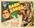"Movie Posters:Adventure, Dark Sands (Record Pictures, 1938). Half Sheets (2) (22"" X 28"")Styles A and B. Adventure.. ... (Total: 2 Items)"