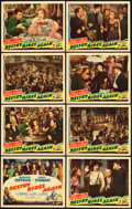 "Movie Posters:Western, Destry Rides Again (Universal, 1939). Lobby Card Set of 8 (11"" X 14"").. ... (Total: 8 Items)"