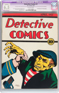 Platinum Age (1897-1937):Miscellaneous, Detective Comics #2 (DC, 1937) CGC Apparent FN+ 6.5 Slight to Moderate (C-2) Off-white pages....