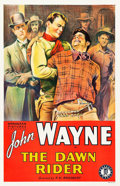 "Movie Posters:Western, The Dawn Rider (Monogram, R-1930s). One Sheet (27"" X 41.5"").. ..."