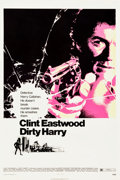 "Movie Posters:Crime, Dirty Harry (Warner Brothers, 1971). One Sheet (27.25"" X 41"").. ..."