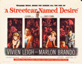"Movie Posters:Drama, A Streetcar Named Desire (Warner Brothers, 1951). Half Sheet (22"" X 28"").. ..."