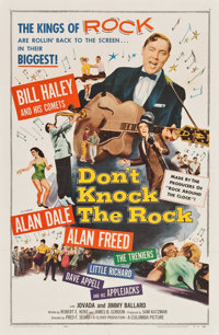 """Don't Knock the Rock (Columbia, 1957). One Sheet (27"""" X 41"""")"""
