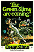 """Movie Posters:Science Fiction, The Green Slime (MGM, 1969). One Sheet (27"""" X 41"""").. ..."""