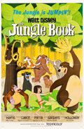 "Movie Posters:Animation, The Jungle Book (Buena Vista, 1967). One Sheet (27"" X 41"").. ..."