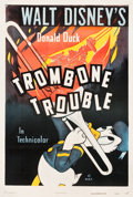 "Movie Posters:Animation, Trombone Trouble (RKO, 1944). One Sheet (27.25"" X 41"").. ..."