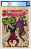 Silver Age (1956-1969):Superhero, The Amazing Spider-Man #6 (Marvel, 1963) CGC VF/NM 9.0 Cream tooff-white pages....