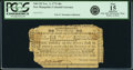 Colonial Notes:New Hampshire, New Hampshire November 3, 1775 40 Shillings Fr. NH-152. PCGS Fine15 Apparent.. ...