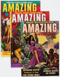 Golden Age (1938-1955):Science Fiction, Amazing Adventures #1, 4, and 5 Group (Ziff-Davis, 1950) Condition:Average VG-.... (Total: 3 Comic Books)