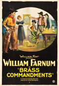 "Movie Posters:Western, Brass Commandments (Fox, 1923). One Sheet (28"" X 40"").. ..."