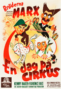 """Movie Posters:Comedy, At the Circus (MGM, 1939). Swedish One Sheet (27.5"""" X 39.5"""").. ..."""