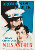 "Movie Posters:Drama, Dream of Love (MGM, 1928). Swedish One Sheet (27.5"" X 39.5"").. ..."