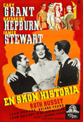 """Movie Posters:Comedy, The Philadelphia Story (MGM, 1941). Full-Bleed Swedish One Sheet(27.5"""" X 39.5"""").. ..."""