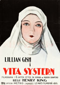 "Movie Posters:Drama, The White Sister (Metro, 1924). Swedish One Sheet (27.5"" X 39.5"")....."