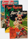 Golden Age (1938-1955):Miscellaneous, Super Magician Comics Group of 16 (Street & Smith, 1945-47) Condition: Average VG+.... (Total: 16 Comic Books)