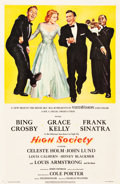 """Movie Posters:Comedy, High Society (Allied Artists, 1955). One Sheet (27"""" X 41.75"""").. ..."""