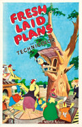 "Movie Posters:Animated, Fresh Laid Plans (MGM, 1951). One Sheet (27"" X 41.5"").. ..."