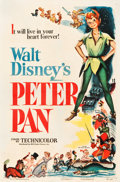 "Movie Posters:Animation, Peter Pan (RKO, 1953). One Sheet (27.25"" X 41"").. ..."