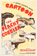 "Movie Posters:Animated, The Peachy Cobbler (MGM, 1950). Tex Avery One Sheet (27"" X 41"")....."