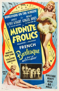 "Movie Posters:Sexploitation, Midnite Frolics (Roadshow Attractions, 1949). One Sheet (27"" X41"").. ..."
