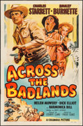 """Movie Posters, Across the Badlands & Other Lot (Columbia, 1950). One Sheets (2) (27"""" X 41"""").. ... (Total: 2 Items)"""