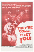 """Movie Posters:Horror, They're Coming to Get You (Independent-International, 1976). One Sheet (27"""" X 41""""). Horror.. ..."""