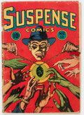 Golden Age (1938-1955):Crime, Suspense Comics #10 (Continental Magazines, 1945) Condition: FR....