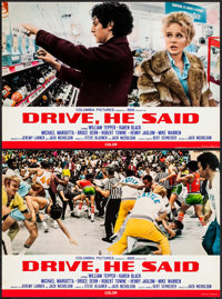 "Drive, He Said & Others Lot (Columbia, 1971). Italian Photobusta Sets of 10 (4) (approx. 17.75"" X 26""). Dr..."