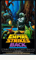 """Movie Posters:Science Fiction, The Empire Strikes Back (20th Century Fox, 1982). NPR Radio Promo Poster (17"""" X 28""""). Science Fiction.. ..."""
