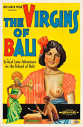 """Movie Posters:Documentary, The Virgins of Bali (Principle Pictures, 1932). One Sheet (27"""" X 41"""").. ..."""