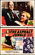 """Movie Posters:Film Noir, The Asphalt Jungle (MGM, 1950 and R-1954). Lobby Card and Reissue Title Card (11"""" X 14"""").. ... (Total: 2 Items)"""