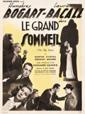 """Movie Posters:Film Noir, The Big Sleep (Warner Brothers, 1946). French Affiche (23.5"""" X 31.5"""").. ..."""