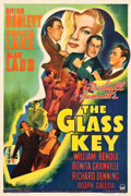"Movie Posters:Film Noir, The Glass Key (Paramount, 1942). One Sheet (27.25"" X 40.75"").. ..."